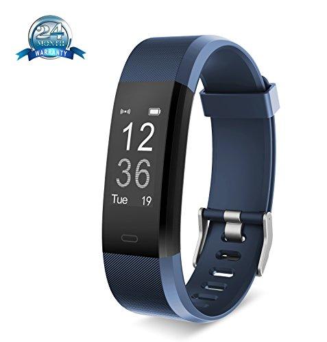 yuanguo Fitness Tracker Smart Armbandes, blau