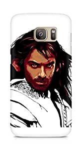 Amez designer printed 3d premium high quality back case cover for Samsung Galaxy S7 Edge (The hobbit tribute)