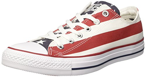 Converse Herren All Star Sneakers, Mehrfarbig (Stars Bars), 44.5 EU