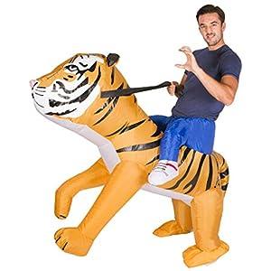 Bodysocks® Disfraz Hinchable de Tigre Adulto