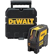 DeWalt DW0822-XJ - Láser autonivelante de 2 líneas en cruz (Horizontal y vertical) y plomadas