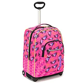 Seven Trolley Fit Seven Nymfe Trolley para portátil 48 Centimeters 35 Rosa