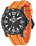 Timberland - TBL.13613JSB/02 - Montre Homme - Quartz Analogique - Bracelet Silicone Orange