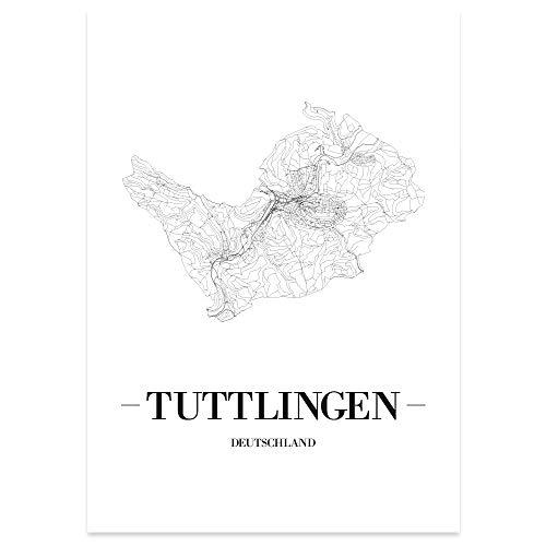41eJzUZfjUL - JUNIWORDS Stadtposter, Tuttlingen, Weiß