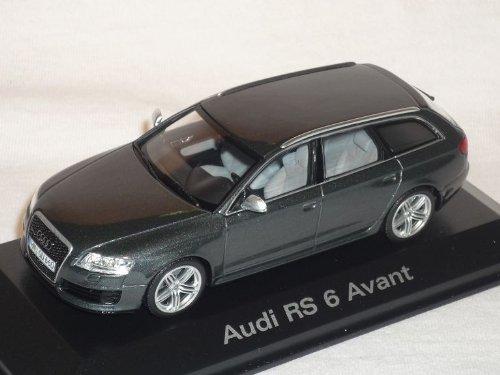 audi-a6-a-6-rs6-rs-2008-2010-avant-kombi-daytona-grau-1-43-minichamps-modell-auto-modellauto