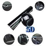 GOGOLO Stickers Pellicola 5D Carbonio Adesiva Foglio