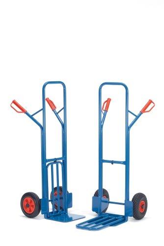 For Demand mcabpcrb1 diable roues de caoutchouc A1, 300 kg Charge, 19 kg Poids, 580 mm largeur x 1300 mm hauteur