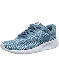 Nike Girls'' Tanjun Print Gg Gymnastics Shoes