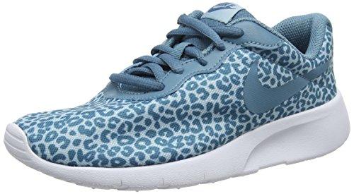 info for cf4f6 9b724 Nike Mädchen Tanjun Print Gg Gymnastikschuhe Blau (Ocean Bliss Noise  Aqua White 402