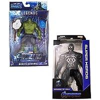 Fullkart The Actions Infinity War 4 Endgame Action Legends Super Heroes Toys Big Size for Kids,Children (Hulk and Venom…