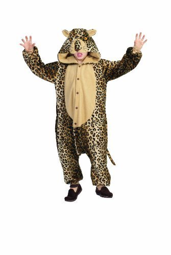 RG Costumes 'Funsies' Lux The Leopard, Child Large/Size 12-14 by RG Costumes