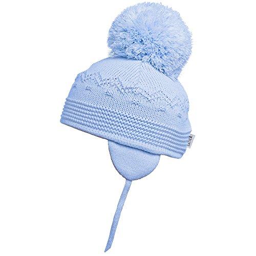 5163969651a Satila of Sweden Sombrero - para bebé niño Azul azul celeste 4-8 años