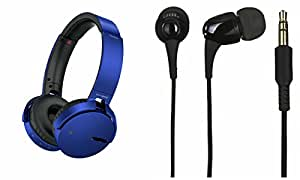 Extra Bass XB650 Headphones & C100 Headset for HTC ONE M8S(XB 650 Headphones,With MIC,Extra Bass,Headset,Sports Headset,Wired Headset & C100 Headset)