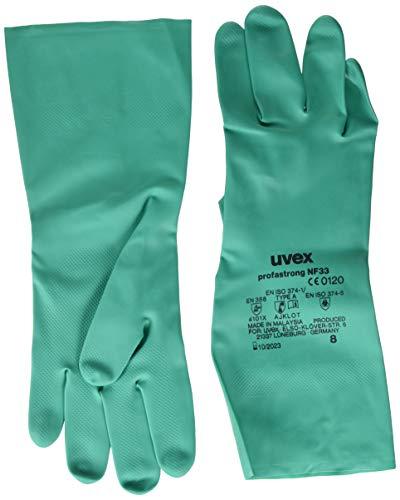 Uvex Nitril- / Chemikalienhandschuh - Hochwertiger Schutzhandschuh gegen chemische und mechanische Risiken (10)