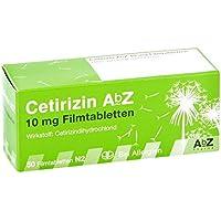 Preisvergleich für Cetirizin Abz 10 mg Filmtabletten 50 stk