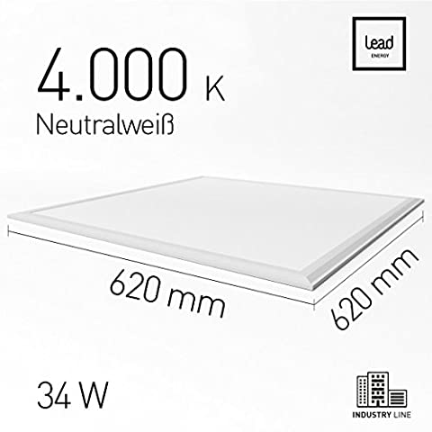 Plafond LED Panneau lumineux LED Panel Basic Lumière encastrable dimmable