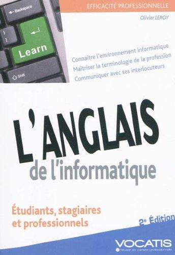 L'anglais de l'informatique par Olivier Leroy