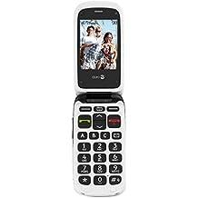 Doro Phone Easy 612 Telefono Cellulare, 32 MB, Nero/Bianco