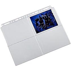 Panodia P012901 Lot de 10 feuillets Transparents pour Le classement et la présentation de Vos tirages Photos 10x15cm
