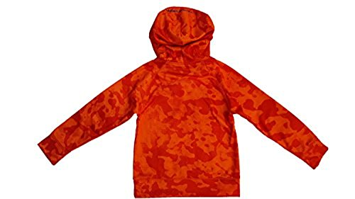 Under Armour Boys Storm Armour Big Logo Fleece Hoody (5, Blaze Orange) (Blaze Hoody)