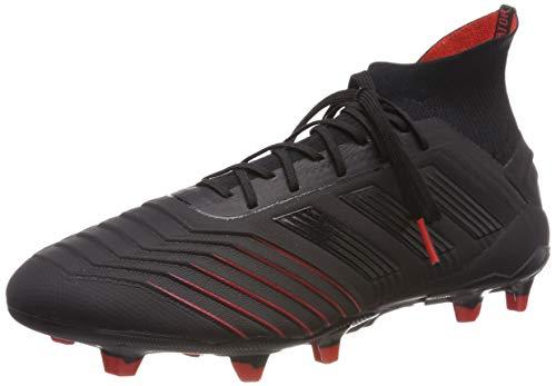 buy online e915a 7b76c adidas Herren Predator 19.1 FG Fußballschuhe Mehrfarbig Core Black Active  Red Bc0551, 40 EU