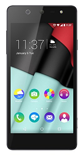 Foto Wiko Selfy 4G Smartphone, 8 GB, Nero