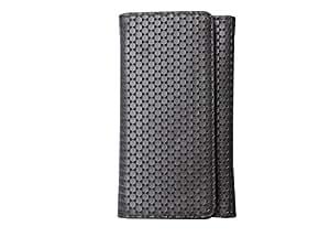 ATV PU Leather SILVER COLOR Pouch Case Flip Cover For Asus Zenfone 3 Laser ZC551KL
