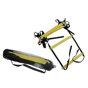 Tunturi Ladder Agility Leiter, schwarz, One Size