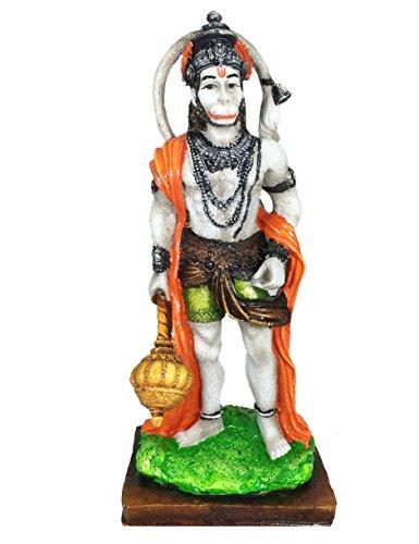 Karigaari Standing Hanuman Polyresine Idol (28.6 cm x 12.4 cm x 8 cm)