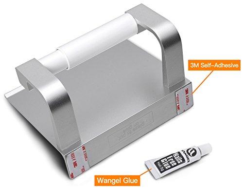 wangel toilettenpapierhalter ohne bohren patentierter. Black Bedroom Furniture Sets. Home Design Ideas