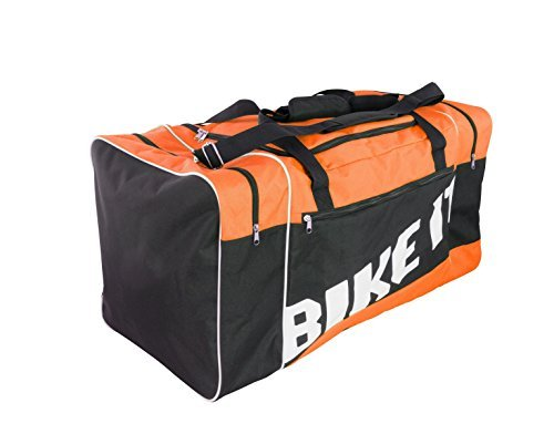BIKE IT MOTOCROSS KIT BORSA 90L ARANCIO NERO