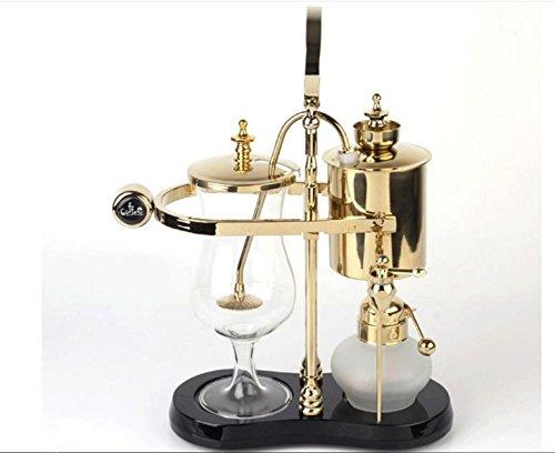 GELNGW © Real Belga sifón de cafetera pot 450 ml(plata)