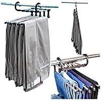 Perchas para pantalones hogar y cocina - Perchas ahorra espacio ...