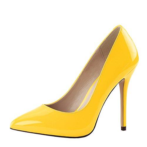 Heels-Perfect , Hi-Top Slippers femme Gelb (Gelb)