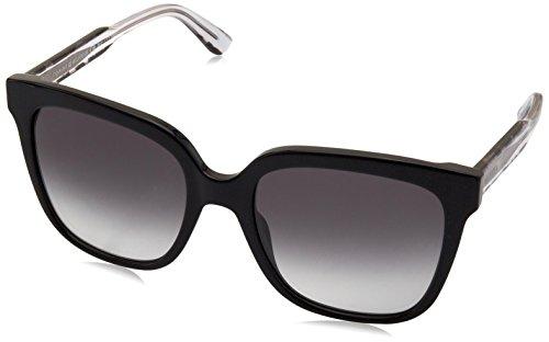 Tommy Hilfiger Damen TH 1386/S 44 QQA 54 Sonnenbrille, Schwarz (Blck Blka/Grey),