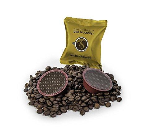 LaCompatibile LAVAZZA A MODO MIO(R) - 100 Capsule Compatibili Caffè Oro di Napoli