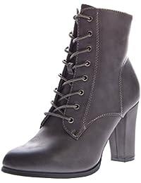 stahl-moden - botines de caño bajo Mujer