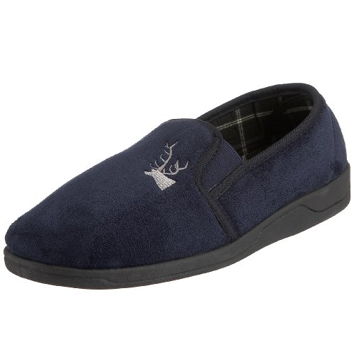 Lotus Jack, Chaussons Doublé Chaud Homme Rouge (navy)
