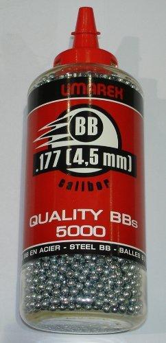 Preisvergleich Produktbild Umarex Stahlrundkugeln 5000 Stück 4, 5 mm BB`s