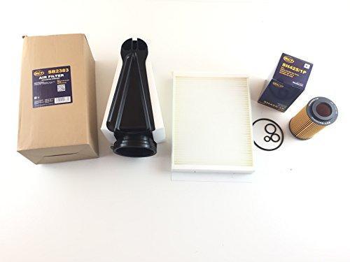 Ölfilter Luftfilter Pollenfilter C-Klasse W205 C200d C220 Bluetec C250 Bluetec C300 Bluetec Hybrid
