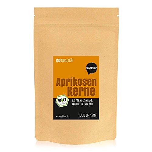 Wohltuer Bio Aprikosenkerne bitter, Bio Saatgut Aprikose