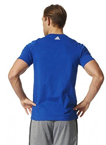 Adidas Ess Linear Tee Shirt, Herren collegiate royal