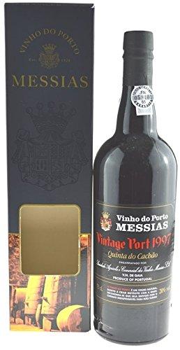 Rarität: Port Messias 0,75l Vintage 1997 - Jahrgang 1997 mit Geschenkpackung - Portwein