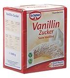 Oetker Vanillin Zucker 1kg Faltschachtel