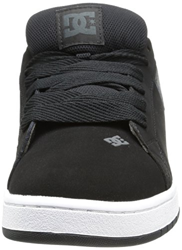 DC Shoes Court Graffik, Chaussures de skate homme Nero (Black/Black/Grey)
