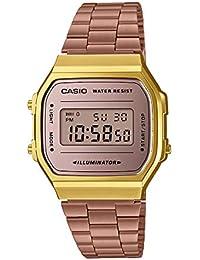 Casio Vintage Series Digital Brown Dial Unisex Watch - A168WECM-5DF (D157)