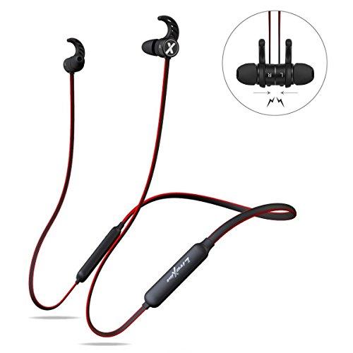 LiteXim Auricolari Bluetooth True Auricolari Wireless Cuffie da Palestra  con Microfono Design Magnete Noise Cancelling per iPhone Samsung Huawei  Rosso dcb04356c106