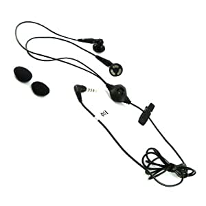 Acce2S - KIT MAINS LIBRES STEREO pour SONY XPERIA J ST26i JACK 3,5 MM NOIR