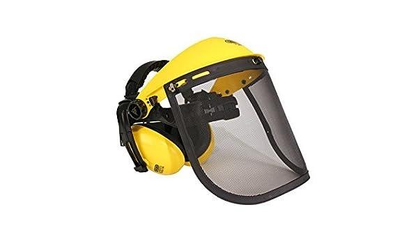 Safety Mesh Visor Helmet Ear Muff Combination For Trimmer /& Brush Cutting Oregon