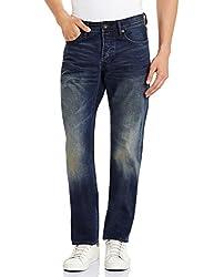 Superdry Mens Slim Fit Jeans (5054265630644_M70015JNF4_36W x 32L_Renegade Vintage)